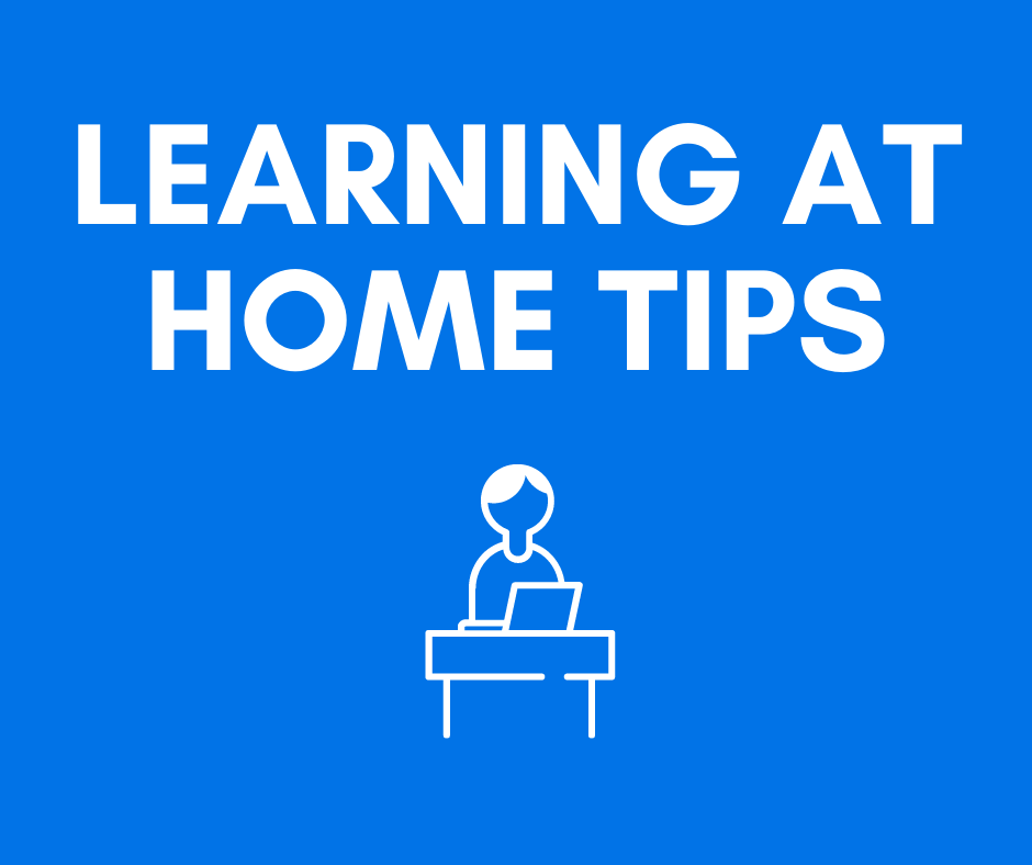 Tips for Distance Learning at Home