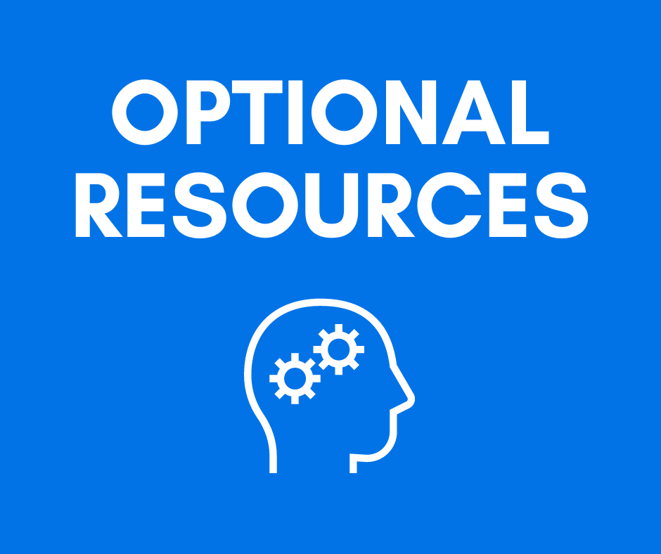 Optional Learning Resources