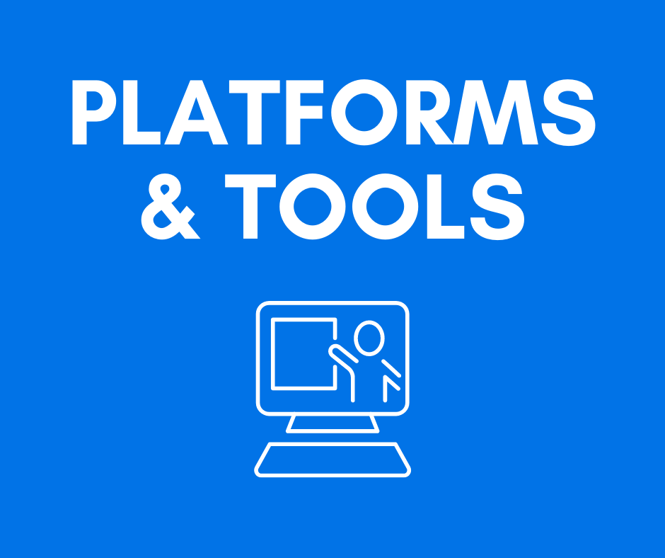 Distance Learning Platforms and Tools