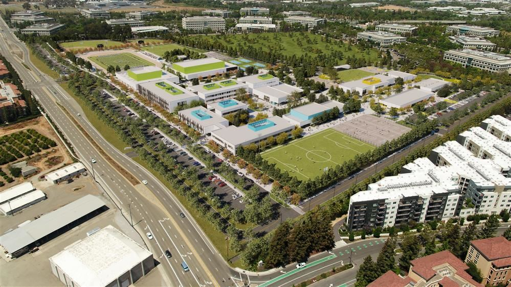 Rendering of Agnews Campus