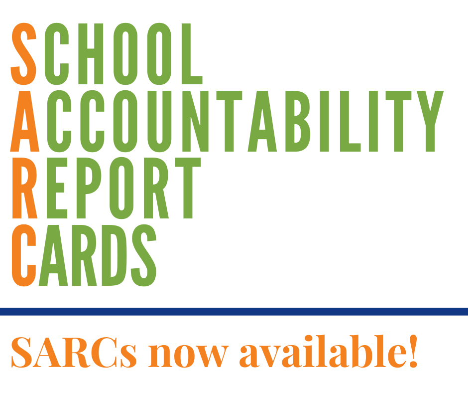 School Accountability Report Cards now available
