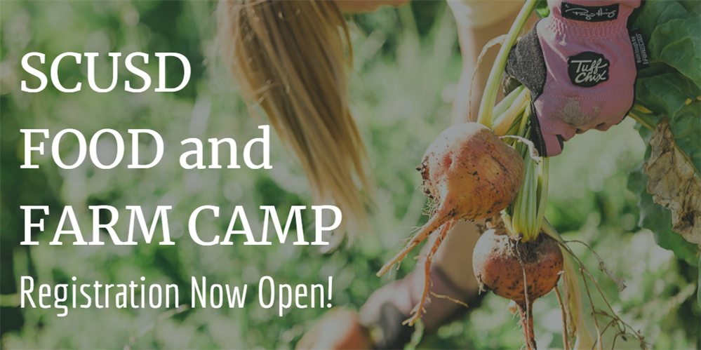 Food and Farm Camp Registration Now Open