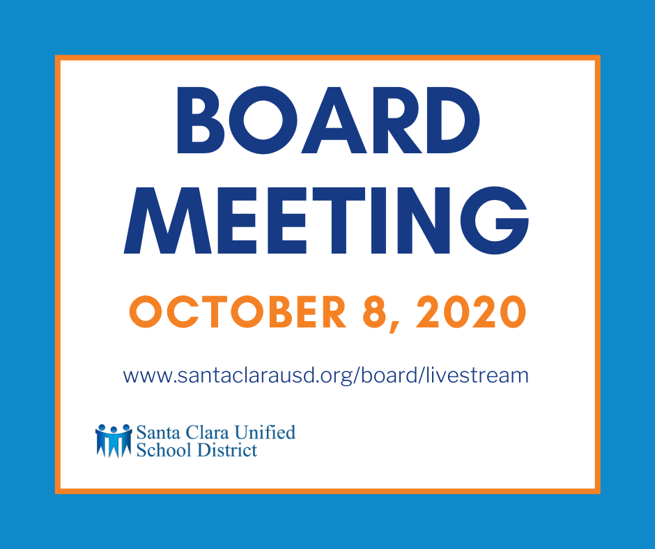 Board Meeting October 8, 2020