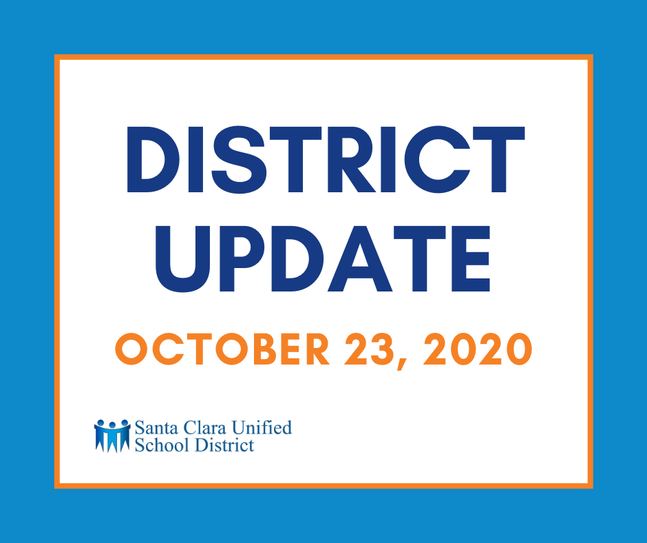 District Update October 23 2020