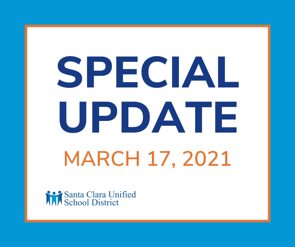 Special Update - March 17, 2021