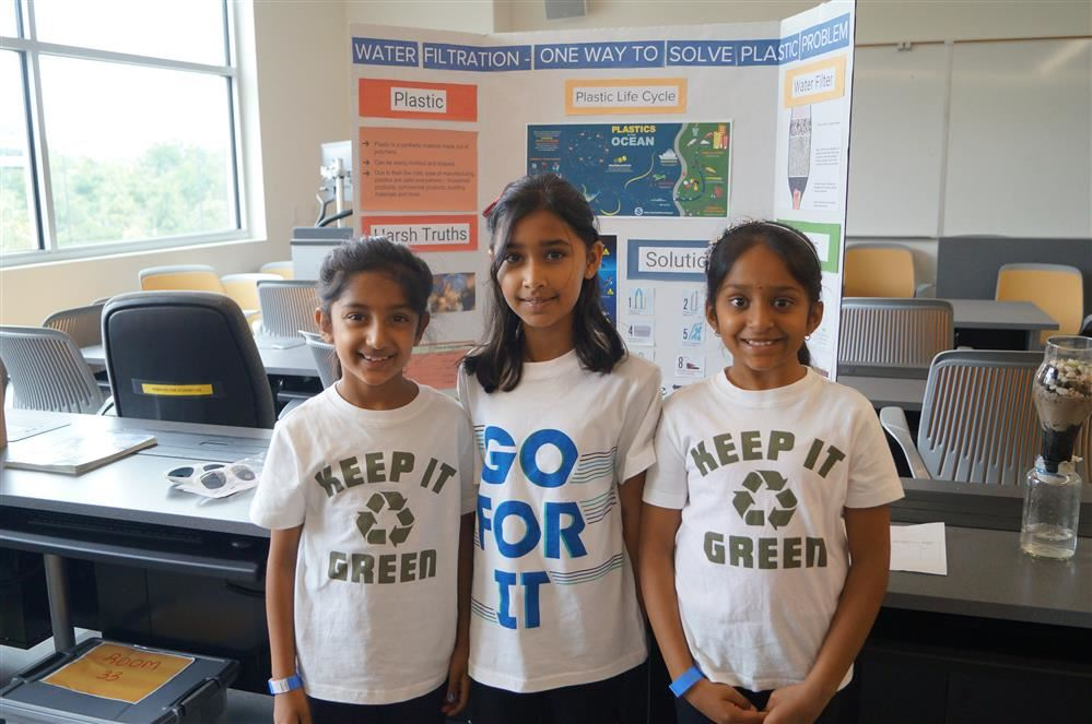 Students share exhibit at STEAM Expo
