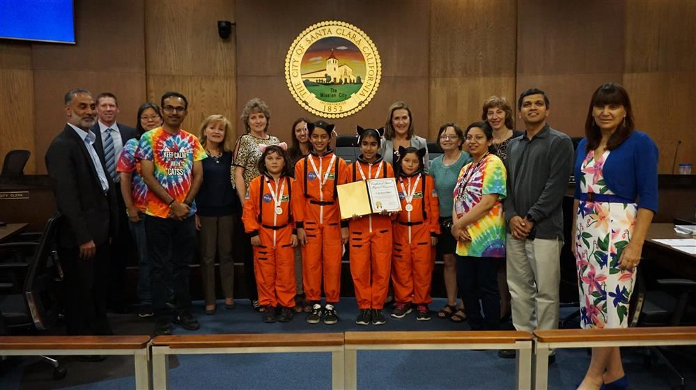 Central Park robotics team recognized at City Hall